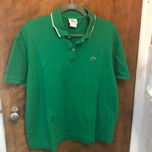 Lacoste Polo size 7 Regular fit